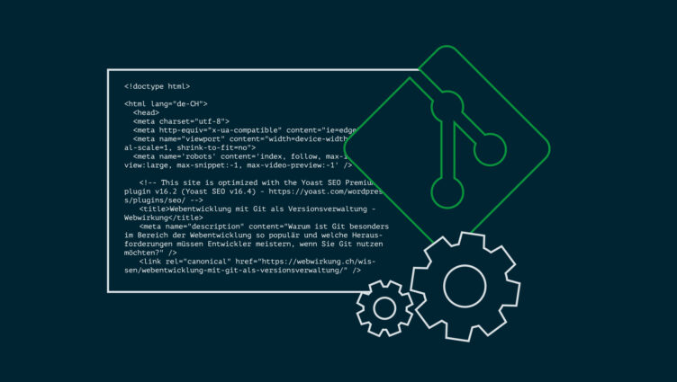 Webentwicklung mit Git als Versionsverwaltung