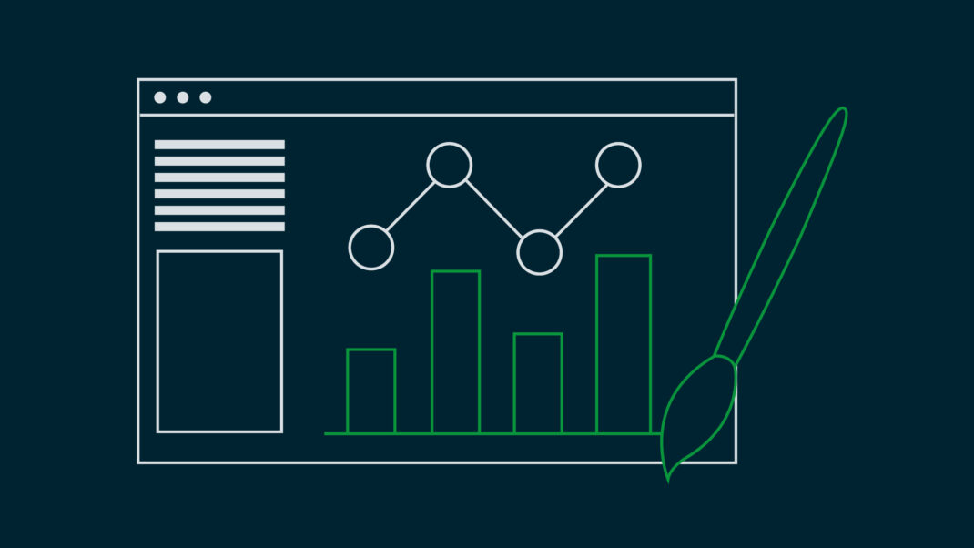 Titelbild Blogpost Webdesign mit Google Analytics