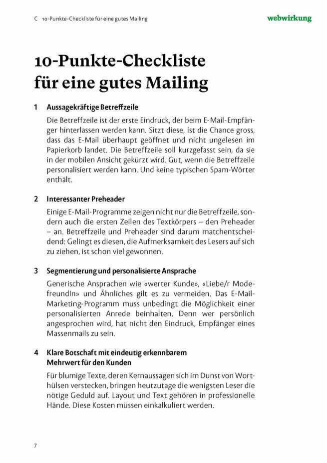 Bild Textausschnitt E-Mail Marketing Onlineshops