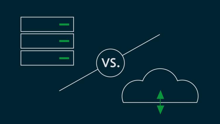 Titelbild Blogpost Cloud Computing vs. On-Premises Lösung