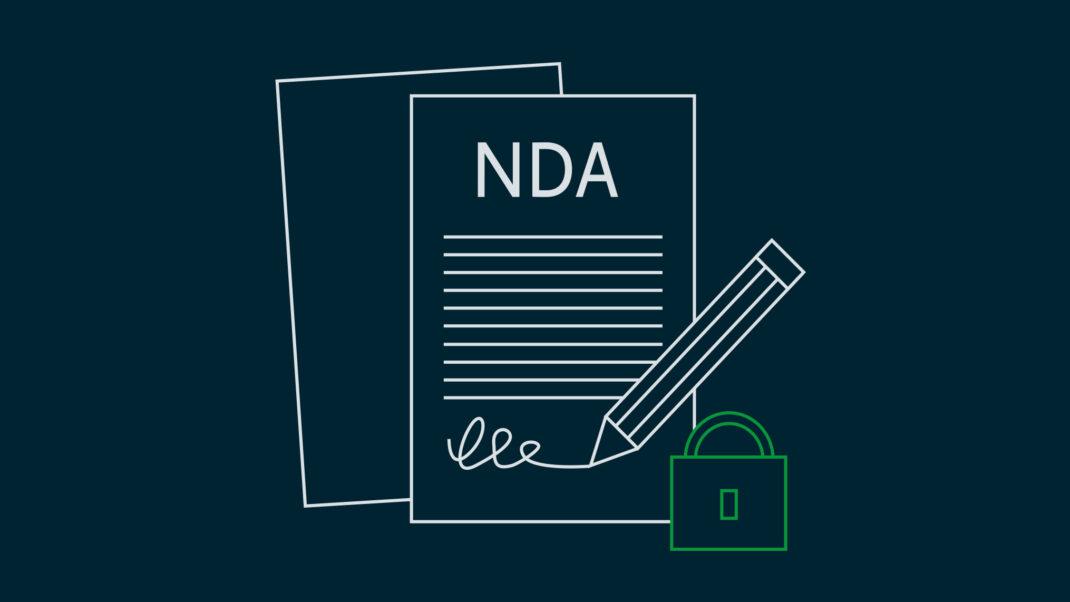 Titelbild Blogbeitrag NDA bei der App Entwicklung