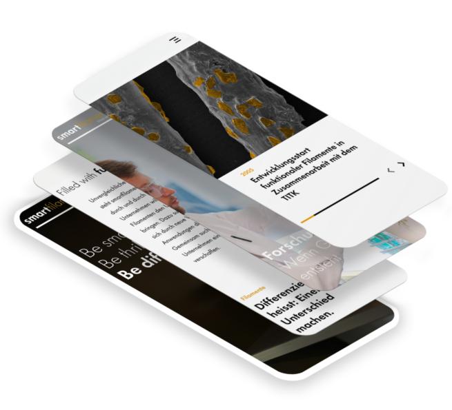 Bild von Smartfilaments Stapel verschiedene Ansichten Mobile
