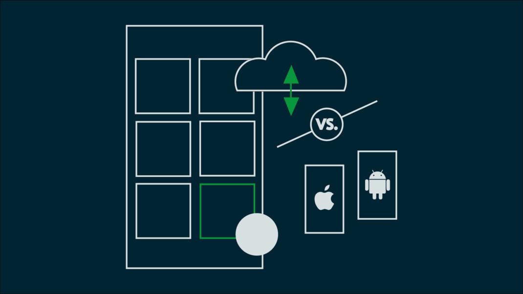 Titelbild für Blogbeitrag Native Apps vs. Web-Apps